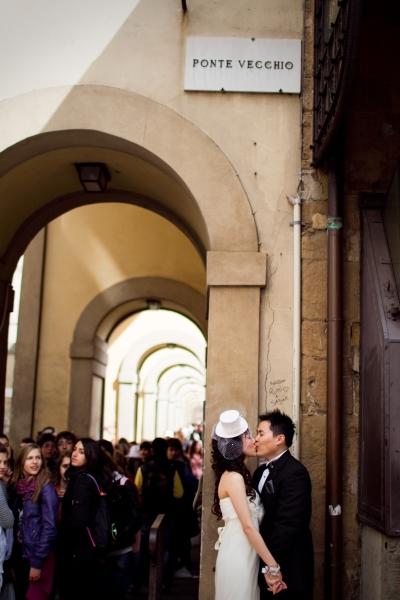 At Ponte Vecchio