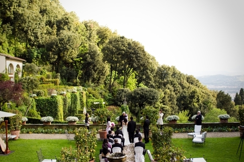 Breath-taking view from Villa San Michele