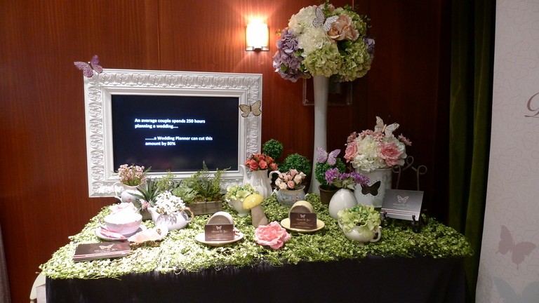 Devoted To You - Secret Garden Inspired Tablescape display