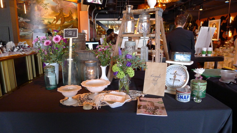 Charming table display by Coriander Girl
