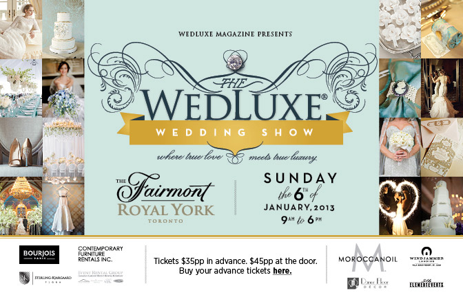 WedLuxe Wedding Show 2013