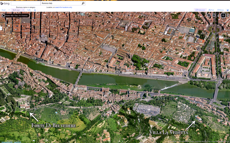 Forte Di Belvedere and Villa La Vedetta 880px