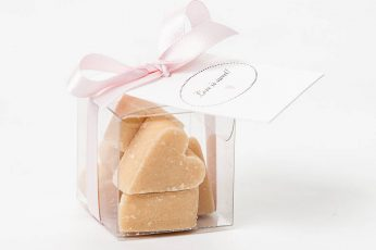 Edible Wedding Favor - fudge