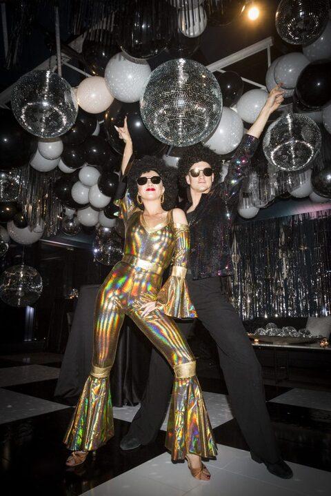 Disco themed dancers entertainment
