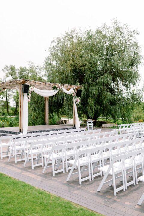 Arlington Estate Ceremony Set-up