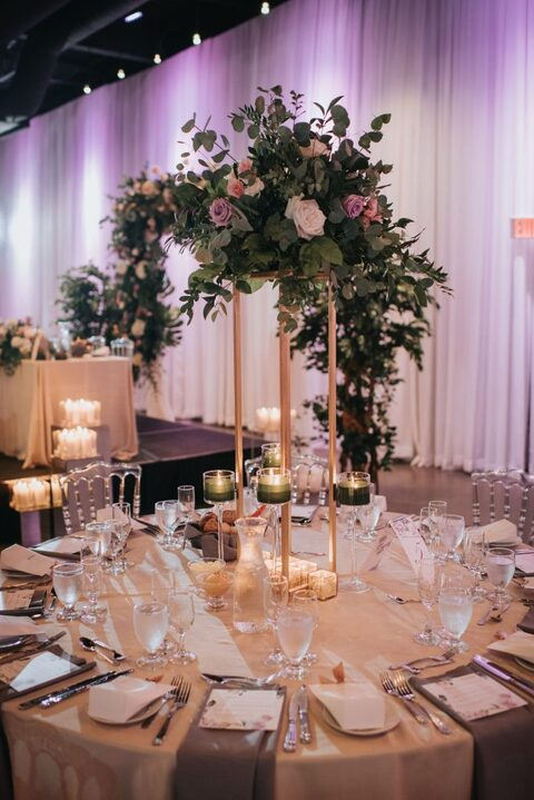 Sara Baig Designs Floral centerpieces