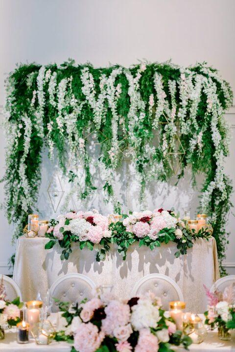 Backdrop floral by Nous Design Group