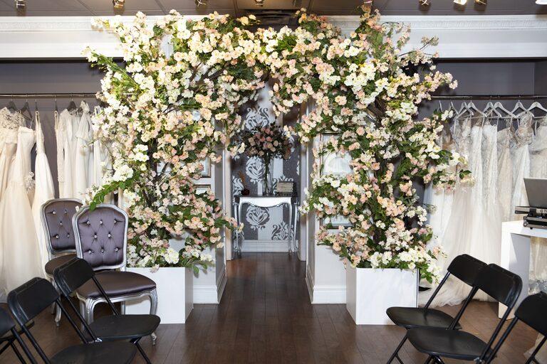 Floral Arch by Rachel Clingen